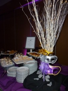Maya party dessert buffet