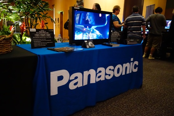 Panasonic at DGA 1